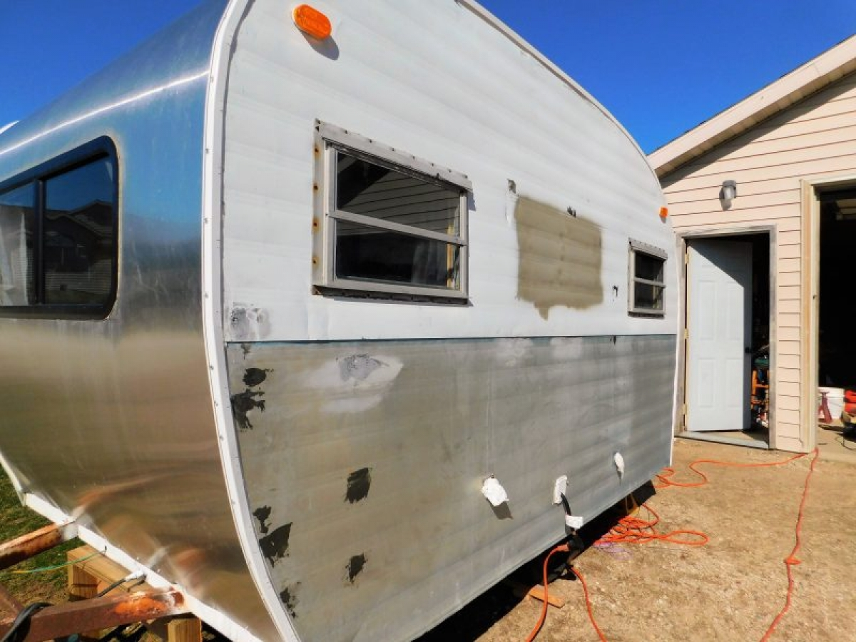 Tackling Beatrices Exterior An Update On My Vintage Camper Renovation